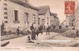 36 Rosnay Mairie Ecoles Chevre Goat RARE - Otros Municipios