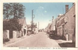 Dépt 41 - SELLES-SUR-CHER - Rue Du Haut Bourgeau - (Coll. Vve Leroy) - Selles Sur Cher