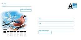 Russia 2020 Postal Stationery Cover Bird Jay Birds Oiseaux Oiseau  Geai - Otros
