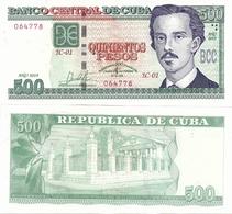 CUBA        500 Pesos        Comm.       P-New        2019         UNC - Cuba