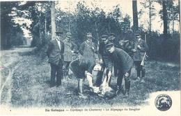 Dépt 41 - En Sologne - Équipage De Cheverny - Le Dépeçage Du Sanglier - (chasse) - France