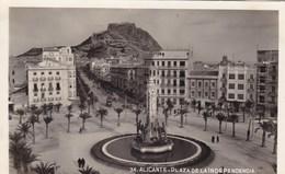 Espagne - Alicante - Plaza De La Indépendencia - Alicante