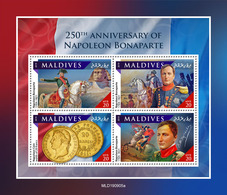 MALDIVES 2019 - Napoleon, Coins. Official Issue [MLD190905a] - Monete