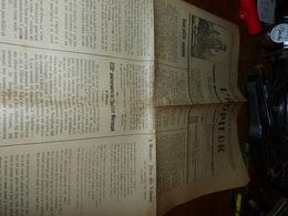 Ancienne Gazette En Wallon L'ropieur Mons 6/11/1924 - Livres, BD, Revues