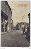 12 Severac Le Chateau - Rue Des Douves (animée) + Cachet Convoyeur Au Dos Séverac Le Chateau A Beziers 1904 - Altri Comuni