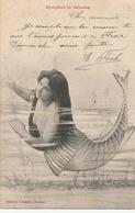 Illustrateur  BERGERET - Nymphes Et Naïdes - Bergeret