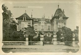 Ornans  Villa Dumont Cusenier - France