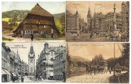 ALLEMAGNE - Joli Lot De 25 CPA - 1900-1910 - Même Destinataire - Toutes Circulées - Lots En Vrac