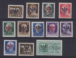 Dt.Bes.2.WK Laibach Lot Ex MiNr. 1-20 ** - Occupation 1938-45