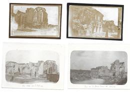 55 - VARENNES EN ARGONNE  4 Photos Guerre 14/18 . - Francia