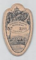 """01342 """"AZIENDA TRANVIE MUNICIPALI-TORINO NR. 3288-LIBERA CIRCOLAZIONE SUI TRAM ED ELETTROBUS 2/07/1939"""" BIGLIETTO - Tramways"""