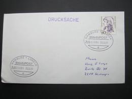 1991 , Bahnpost:  HAMBURG - LÜBECK   , Klarer   Stempel Auf Brief - [7] República Federal