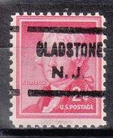 USA Precancel Vorausentwertung Preo, Locals New Jersey, Gladstone 622 - Vereinigte Staaten