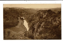 CPA  Carte Postale-Belgique- Sy- L'Ourthe Et Le Haut Rocher -1937-VM12912 - Aywaille