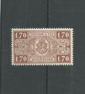 Timbres CHEMIN DE FER  TR 148AXX - 1923-1941