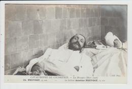 COURRIERES - PAS DE CALAIS - CATASTROPHE MINIERE DE MARS 1906 - LES RESCAPES - PRUVOST ET ANSELME PRUVOST - Andere Gemeenten