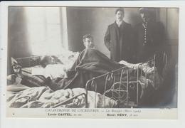 COURRIERES - PAS DE CALAIS - CATASTROPHE MINIERE DE MARS 1906 - LES RESCAPES - CASTEL ET NENY - Andere Gemeenten