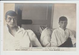 COURRIERES - PAS DE CALAIS - CATASTROPHE MINIERE DE MARS 1906 - LES RESCAPES - COUPLET ET MARTIN - Andere Gemeenten
