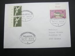 Bahnpost:  1978 , AUGSBURG - MÜNCHEN    Überlandpost     , Klarer   Stempel Auf Beleg - BRD