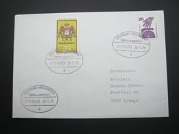 Bahnpost:  1978 , STUTTGART - HEILBRONN    Überlandpost     , Klarer   Stempel Auf Beleg - BRD