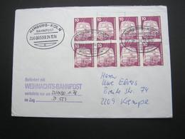 Bahnpost:  1978 , HAMBURG-KÖLN   , Klarer   Stempel Auf Beleg - BRD