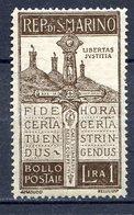 SAN MARINO 1923 -PRO VOLONTARI CADUTI  N°97  MNH** - Nuevos