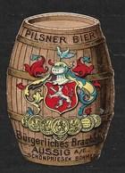 Aussig Schönpriesen Pilsner Bier - Erinnophilie
