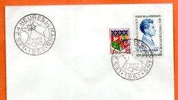 24 HEURES DU MANS  1961 Lettre Entière N° NO 168 - Marcophilie (Lettres)