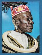 KENYA AFRICAN ELDER IN TRADITIONAL COSTUME - Kenia