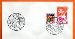 AIX LES BAINS  APOCALYPSE  1961 Lettre Entière N° NO 171 - Cachets Commémoratifs
