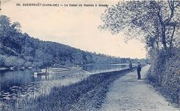 ¤¤   -   GUENROUET   -   Le Canal De Nantes à Brest   -  Péniche  -  ¤¤ - Guenrouet