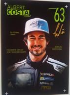 Albert Costa - Handtekening