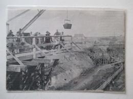 Heist - HEYST-SUR-MER (Belgique)  -  Construction Du Port -  Coupure De Presse De 1898 ! - Historische Dokumente