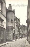 CPA Paris Rue Hautefeuille Jolie Tourelle Dépendant De L'Hôtel Des Abbés De Fécamp - Arrondissement: 06