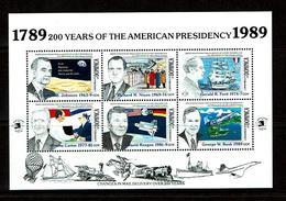 Dominica 1989 Sc # Bf 1207  MNH **  USA Presidents - Dominica (1978-...)
