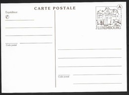 Luxembourg . Entier Carte Postale Neuve . - Stamped Stationery