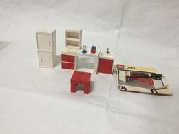 Set LEGO: CASALINGA: 292-1 Lavandino E Armadi Retrò Vintage Con Istruzioni - Lego