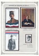 SAINT VINCENT GUYANE DOMINICA - 3 BLOCS ET 1 TIMBRE NEUFS GENERAL DE GAULLE - De Gaulle (General)