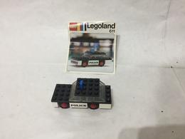 LEGO LEGOLAND 611 POLIZIA POLICE VINTAGE CON ISTRUZIONI NO BOX. - Lego