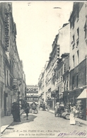 CPA Paris Rue Dupin Prise De La Rue Du Cherche-Midi - Arrondissement: 06