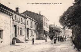 SAVONNIERES EN PERTHOIS-55-RUE DE BAR- - France
