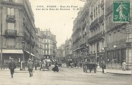 CPA Paris Rue Du Four Vue De La Rue De Rennes - Arrondissement: 06