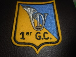 Patch Militaire : 1 Er Groupe De Chasseurs - Ecussons Tissu