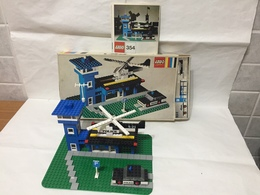 LEGO LEGOLAND STAZIONE DI POLIZIA SET 354 VINTAGE COMPLETO SCATOLA E ISTRUZIONI - Lego