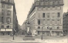 CPA Paris Place Et Rue De L'Odéon - Arrondissement: 06