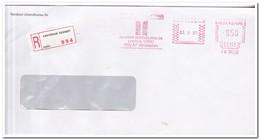 Aangetekende Brief 1985, Amsterdam ( Zuidoost ) Randstad Uitzendbureau Bv - Period 1980-... (Beatrix)