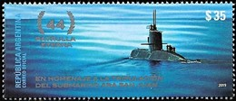 ! ARGENTINE / ARGENTINA: Submarine ARA SAN JUAN - In Memoriam / Le Sous-marin / U-Boot (2019) MNH *** Neufs - Ungebraucht