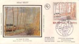 [405171]B/TB//-France  - Alfred Sisley, Le Canal Du Loing, Musée De Louvre, Jeu De Paume Paris, Nature, Musée - Architecture