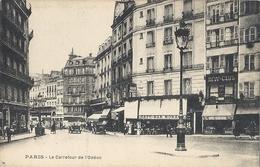 CPA Paris Le Carrefour De L'Odéon - Arrondissement: 06