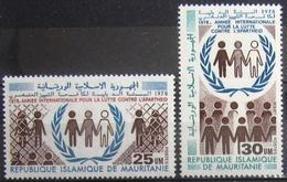 MAURITANIE                      N° 396/397                      NEUF** - Mauritanie (1960-...)